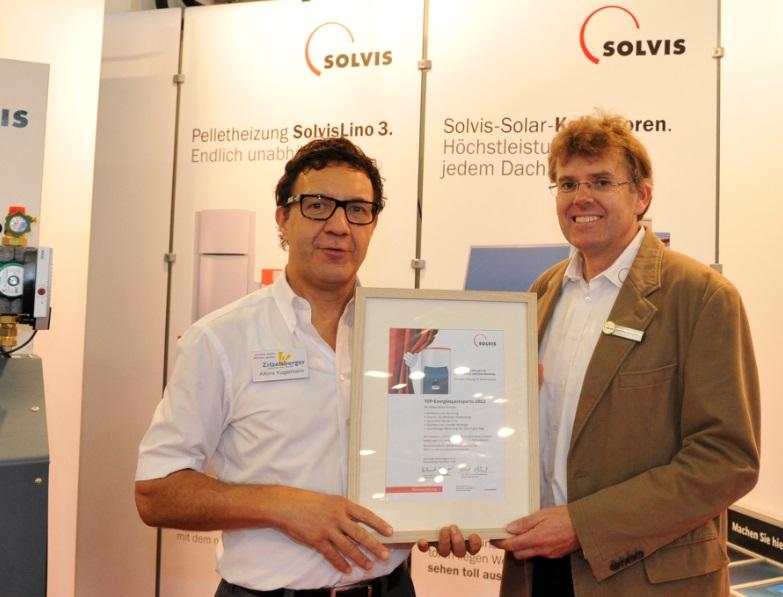 Auszeichnung Heizkosten sparen Zitzelsberger Augsburg
