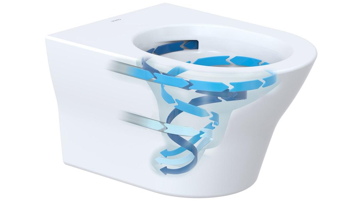 Gut Japan WC mit Tornado Flush Spülung - Zitzelsberger GmbH FT51