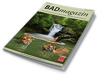 Badmagazin Broschüre