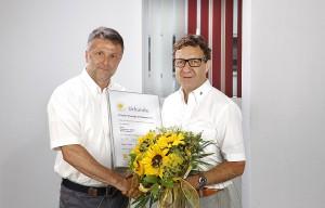 Auszeichnung von Paradigma an Alfons Kugelmann Zitzelsberger GmbH