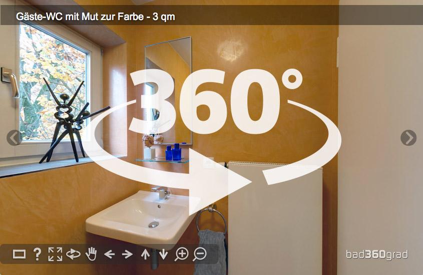 Panorama Gäste-WC ohne Fliesen Zitzelsberger GmbH