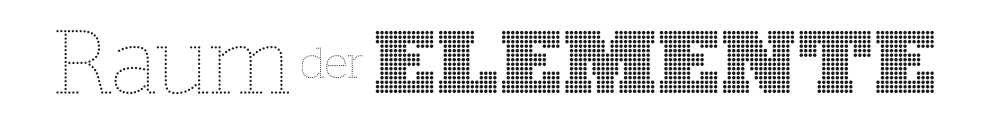 Logo Ausstellung Raum der Elemente Zitzelsberger GmbH