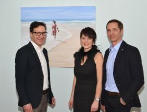 Vernissage zum Thema Wasser mit Klaus Fliege, Petra Schabinger und Alfons Kugelmann Zitzelsberger GmbH