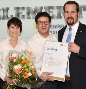 Zertifizierungs-Urkunde Badgestalter für Badmodernisierung Zitzelsberger GmbH