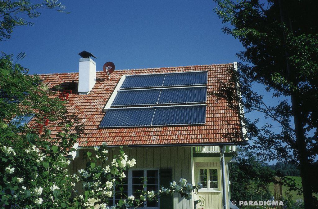 Solarwärme für Solarheizung