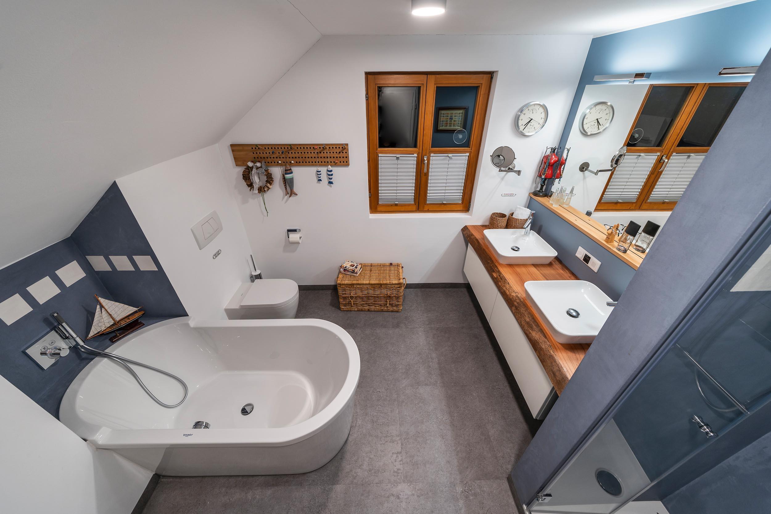 Bad ohne Fliesen in der Dusche Zitzelsberger Augsburg