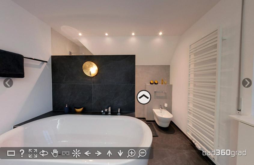Lichtstimmung im Badezimmer