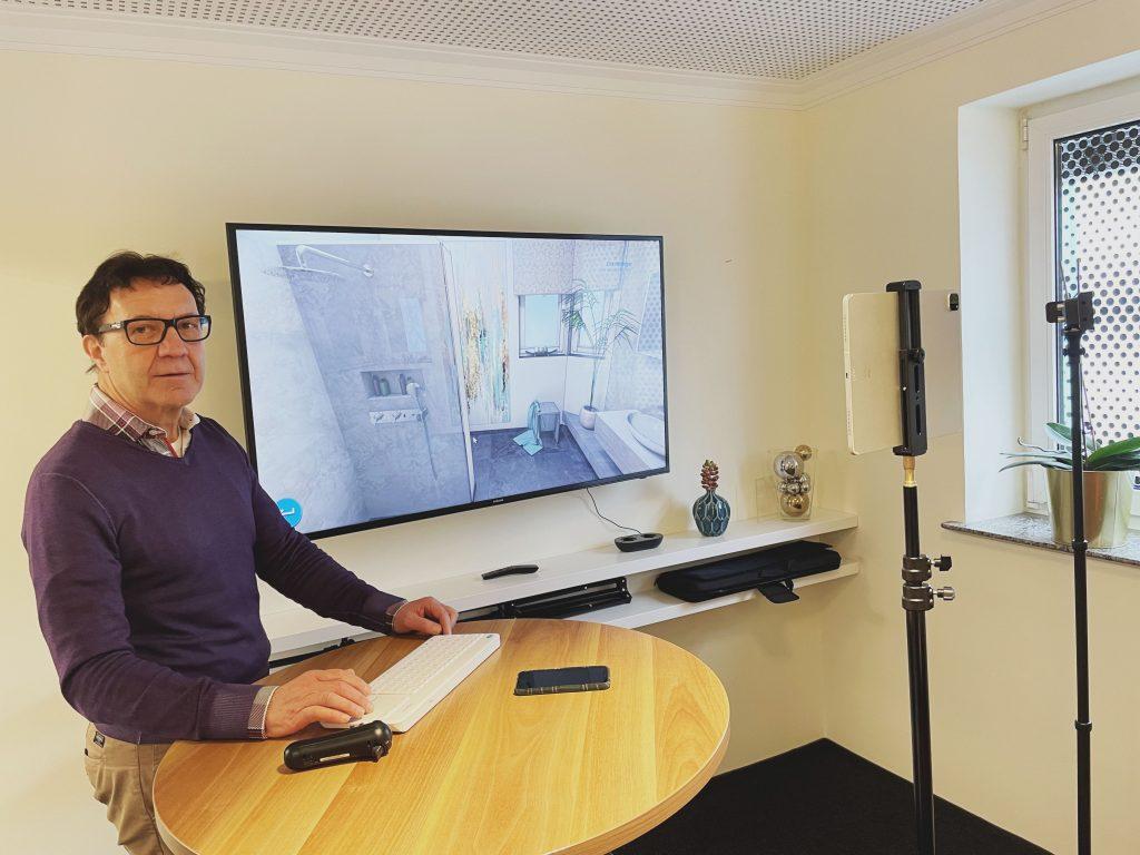Online Beratung zum Badumbau Augsburg